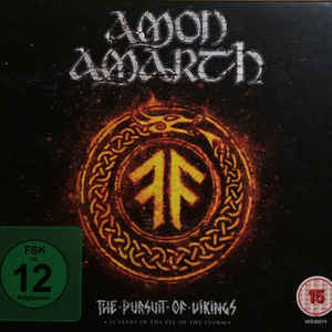 AMON AMARTH – THE PURSUIT OF VIKINGS: 25 YEARS IN THE (2xBlu-Ray+CD)