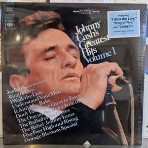 CASH, JOHNNY – GREATEST HITS, VOLUME 1 (LP)
