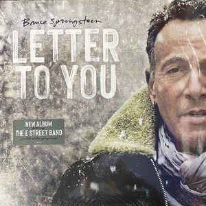 SPRINGSTEEN, BRUCE & THE E STREET BAND – LETTER TO YOU (2xLP)