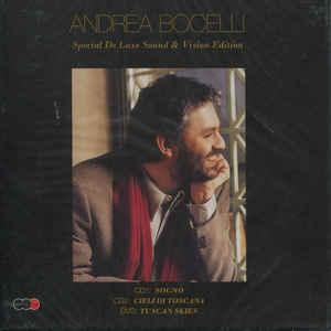 BOCELLI, ANDREA SPECIAL DE LUXE SOUND & VISION 2-CD+DVD –  (DVD)
