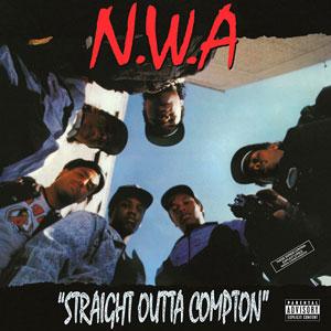 N.W.A. – STRAIGHT OUTTA COMPTON (LP)