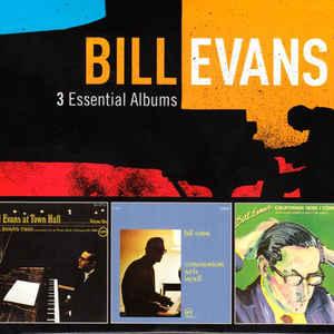 BILL EVANS – 3 ESSENTIAL ALBUMS (3xCD)