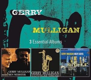 MULLIGAN, GERRY – 3 ESSENTIAL ALBUMS (3xCD)