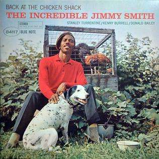 SMITH, JIMMY – BACK AT THE CHICKEN SHACK (LP)