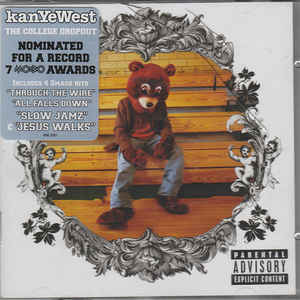 WEST, KANYE – COLLEGE DROPOUT (CD)
