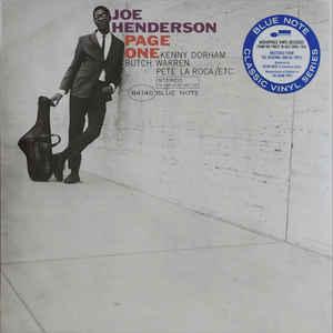 HENDERSON, JOE – PAGE ONE (LP)