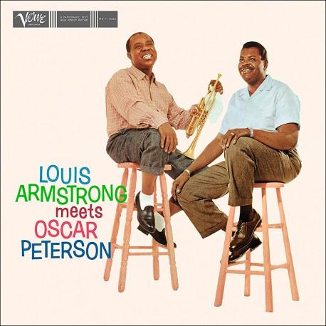 LOUIS ARMSTRONG, OSCAR PETERSON – LOUIS ARMSTRONG MEETS OSCAR PETERSON (LP)