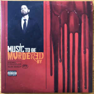 EMINEM – MUSIC TO BE MURDERED BY (LP)