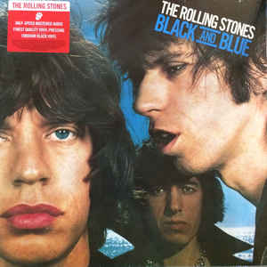 ROLLING STONES – BLACK AND BLUE (LP)