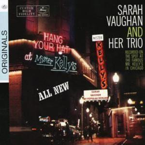 VAUGHAN, SARAH – LIVE AT MISTER KELLY'S (CD)