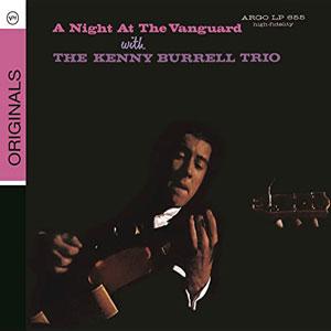 BURRELL, KENNY – A NIGHT AT THE VILLAGE VA (CD)