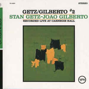 STAN GETZ, JOÃO GILBERTO – GETZ/GILBERTO #2 (CD)