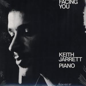 KEITH JARRETT: FACING YOU –  (LP)
