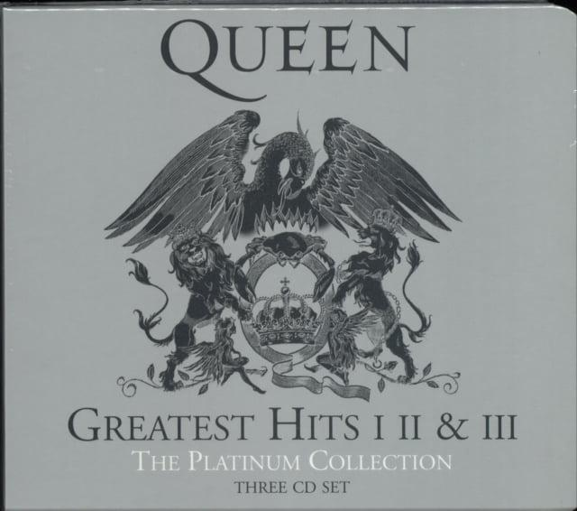 QUEEN – THE PLATINUM COLLECTION (3xCD)