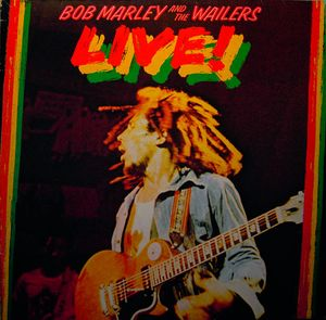 MARLEY, BOB & THE WAILERS – LIVE! (LP)