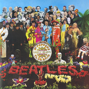 BEATLES – SGT.PEPPER'S LONELY HEARTS CLUB BAND (LP)