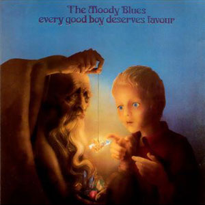 MOODY BLUES – EVERY GOOD BOY DESERVES FAVOUR (LP)