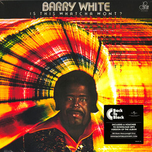 WHITE, BARRY – IS THIS WHATCHA WONT (LP)