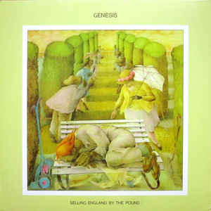GENESIS – SELLING ENGLAND BY THE POUND (LP)