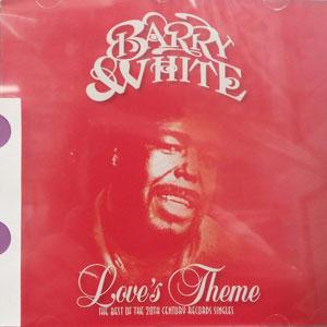 "WHITE, BARRY LOVE""S THEME BEST OS CD –  (CD)"