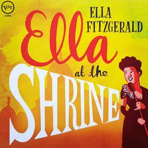 FITZGERALD, ELLA – ELLA AT THE SHRINE (LP)