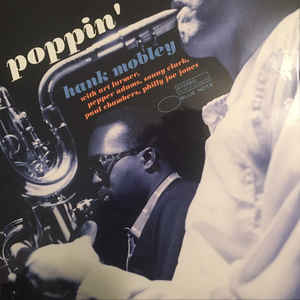 MOBLEY, HANK – POPPIN' (LP)