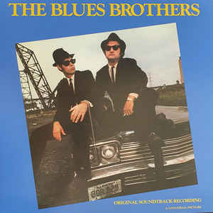 OST BLUES BROTHERS LTD.ED. LP  –  (LP)