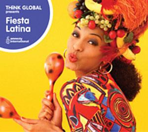 VARIOUS ARTISTS – FIESTA LATINA -THINK GLOBAL (CD)