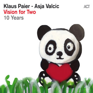 VISIONS FOR TWO – KLAUS PAIER & ASJA VALCIC (CD)