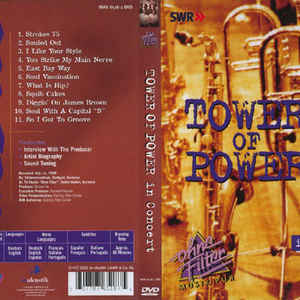 TOWER OF POWER IN CONCERT-OHNE FILTER DVD INAK 6518 –  (DVD)