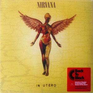 NIRVANA – IN UTERO -HQ VINYL- (LP)