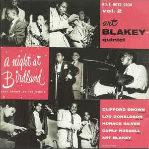 BLAKEY, ART – A NIGHT AT BIRDLAND VOL.2 (CD)