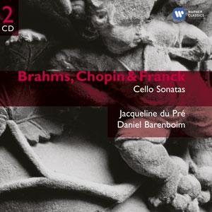 BRAHMS/CHOPIN/FRANCK – CELLO SONATAS (2xCD)