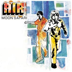 AIR – MOON SAFARI (LP)