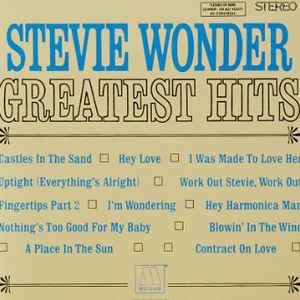 STEVIE WONDER – GREATEST HITS (CD)