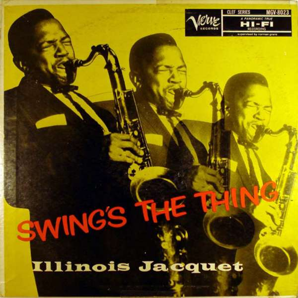 ILLINOIS JACQUET: SWING'S THE THING (45RPM-EDITION) –  (2xLP)
