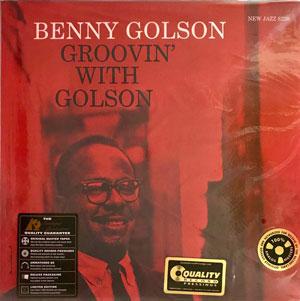 GOLSON, BENNY – GROOVIN' WITH GOLSON (LP)