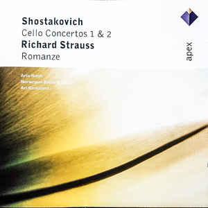 SHOSTAKOVICH CELLO CONCERTOS 1 & 2  CD PINGV –  (CD)