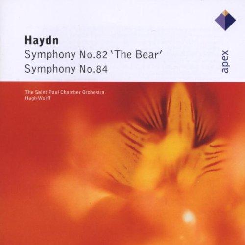 HAYDN SYMPH.N.82 & 84 /WOLFF CD PINGV –  (CD)