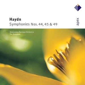 HAYDN, J. – SYMPHONY NO.44,45,49 (CD)