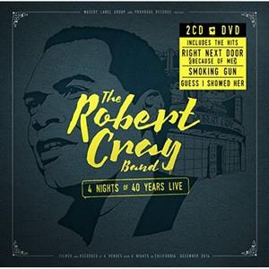 CRAY ROBERT – 4 NIGHTS OF 40 YEARS (3xCD)