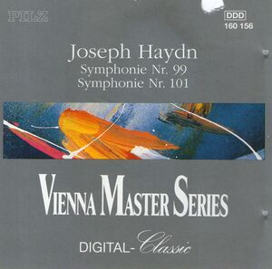 HAYDN SYMPH.N.99 & 101/ HARNONCOURT CD PINGV –  (CD)