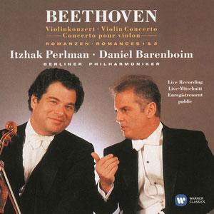 BEETHOVEN, L. VAN – VIOLIN CONCERTO/ROMANCES (CD)