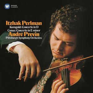 PERLMAN, ITZHAK – KORNGOLD & CONUS – VIOLIN CONCERTOS (CD)