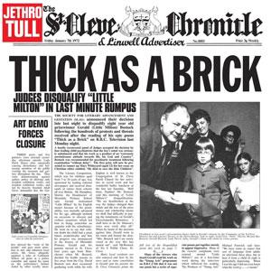 JETHRO TULL – THICK AS A BRICK VINYL LP (LP)