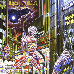 IRON MAIDEN – SOMEWHERE IN TIME (LP)