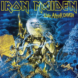 IRON MAIDEN – LIVE AFTER DEATH VINYL LP (2xLP)
