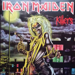 IRON MAIDEN – KILLERS VINYL LP (LP)