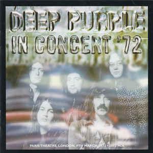 DEEP PURPLE – IN CONCERT '72 (2012 REMIX) (CD)