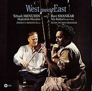 MENUHIN/SHANKAR – WEST MEETS EAST (LP)